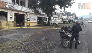 Ladrones balean a conductor y lo despojan de su vehículo en Uruapan, Michoacán