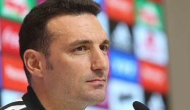 Lionel Scaloni confirmó el equipo para el debut y habló de la ausencia de Leo Messi