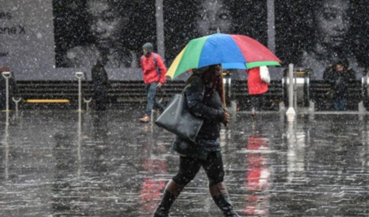 Lluvias intensas y puntuales se esperan para estos estados