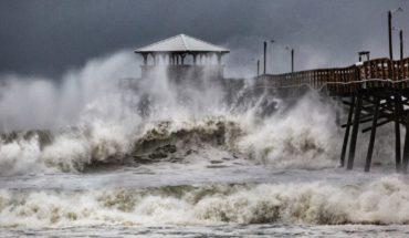 """""""Lo peor de la tormenta no ha llegado""""; huracán Florence toca tierra"""