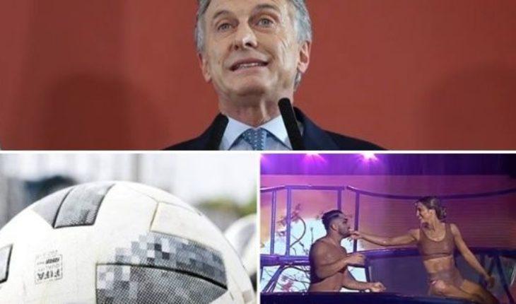 Los duros tweets de Macri, partidos suspendidos por lluvia, la jóven del aquadance de Flor Vigna, nene cae de edificio y mucho más...