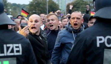 Manifestaciones ultraderechistas en Alemania dejaron nueve heridos tras enfrentamientos con opositores