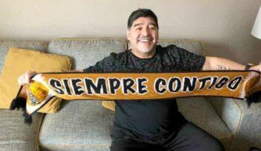Maradona llega a Sinaloa para afrontar el reto con Dorados