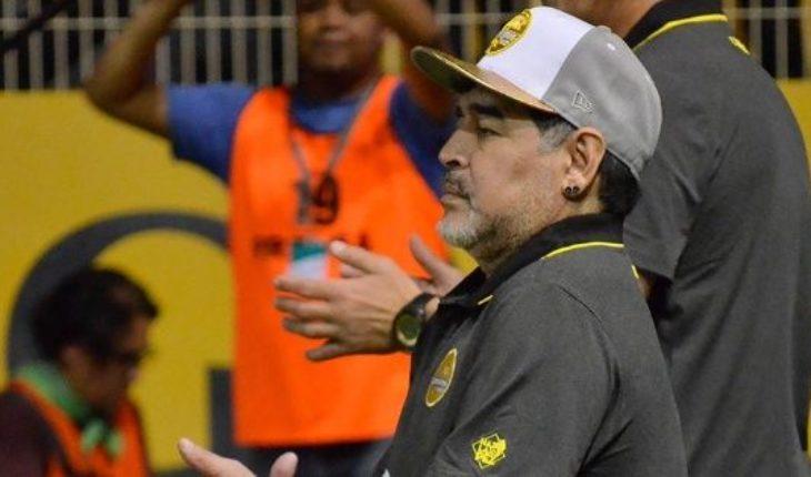 """Maradona tras la eliminación de Dorados: """"Presión siente quien no lleva 100 pesos a la casa"""""""