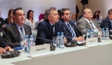 """Mauricio Macri, desde Mendoza: """"El mundo está sufriendo cambios profundos"""""""