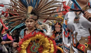Miles de concheros cumplen cita religiosa en Querétaro
