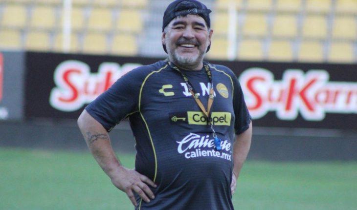 Minuto a minuto: Diego Maradona hace su debut con Dorados