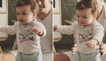 Momento inolvidable: La emoción de Flor Peña al ver a su hijo dando los primeros pasos
