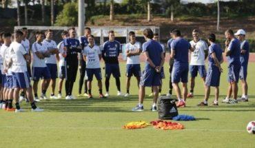 Nueva era: la Selección Argentina realizó su primer entrenamiento tras el Mundial