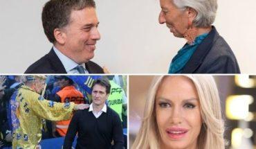 Paro, Caputo y dólar en alza, más lesiones en Boca, Luli Salazar indignada, la bronca de Marcos Díaz, y mucho más