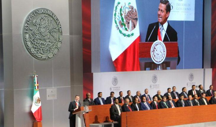 Peña presume que deja estabilidad política, social y económica