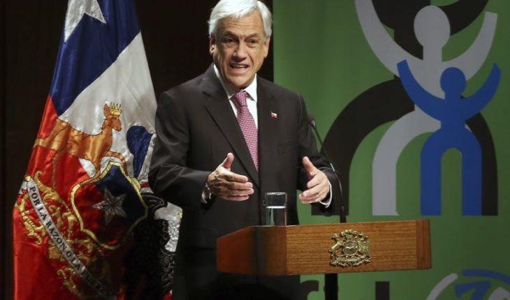 """Piñera en el Congreso Nacional de Educación: """"Nuestro énfasis está puesto en la educación primaria"""""""