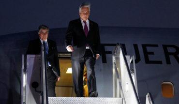 Piñera llegó a Nueva York para participar de la Asamblea General de la ONU