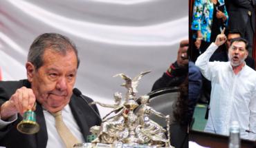 Pleito entre Muñoz Ledo y Fernández Noroña empaña primera sesión de la LXIV Legislatura