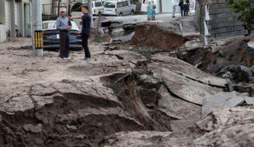 Por un fuerte terremoto, se suspendió el partido entre Japón y Chile