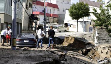 Potente sismo en Hokkaido, Japón, causa 7 muertos y deslaves