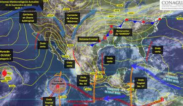 Prevén tormentas puntuales intensas y actividad eléctrica en Sinaloa y Nayarit