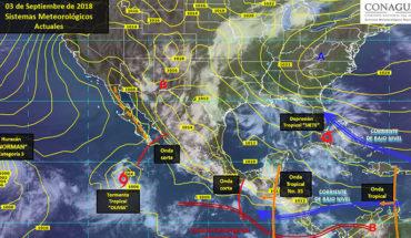 Prevén vientos fuertes en estados fronterizos del noroeste, norte y noreste de México