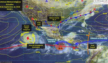 Pronostican el desarrollo de nubes de tormenta en gran parte del territorio mexicano