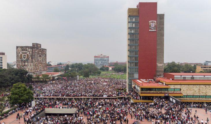 Remueven a funcionario de UNAM por ataque en CU