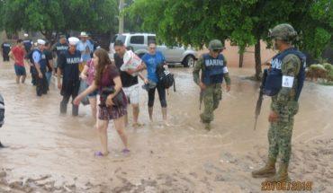 Reportan tres muertos y tres desaparecidos en Sinaloa