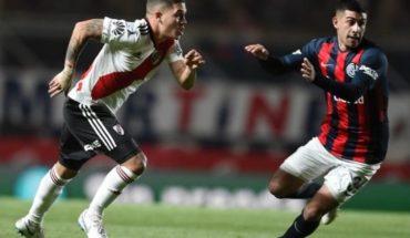 River da el golpe sobre el cierre del primer tiempo y le gana 1 a 0 a San Lorenzo