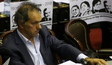 """Scioli: """"Se están cumpliendo los efectos negativos que anticipé en el debate de 2015"""""""