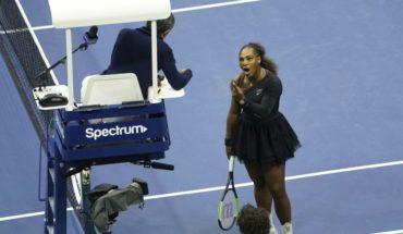 Serena Williams fue multada con 17 mil dólares debido a su conducta en la final del US Open