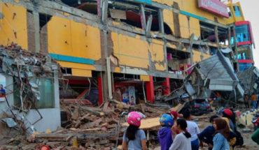 Sube a 385 el número de muertos por terremoro y tsunami en Indonesia