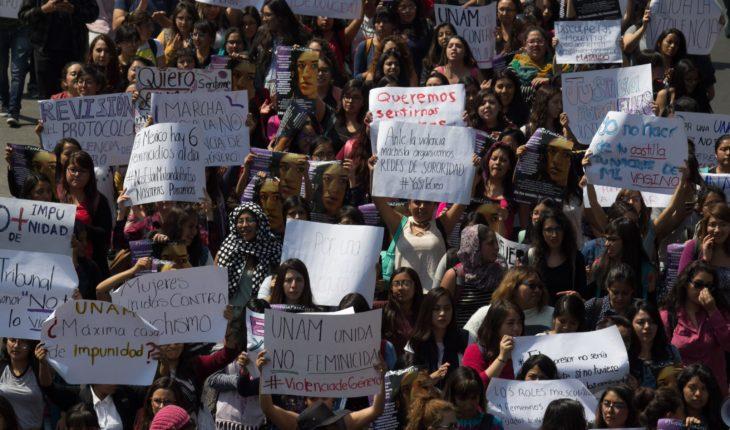 Suben 1157% denuncias por violencia de género: UNAM