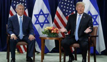 Trump apoya 2 estados: uno para Israel, otro para palestinos