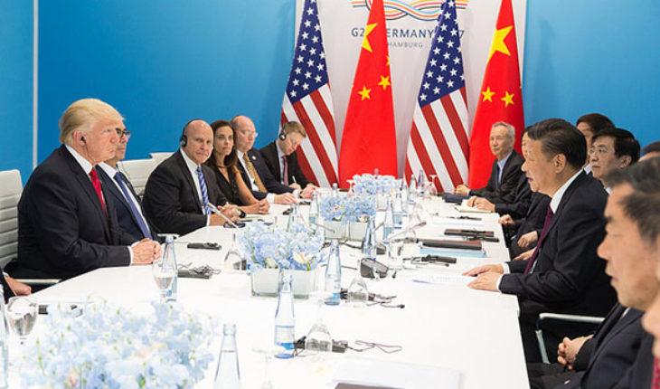 Donald J. Trump y Xi Jinping en la Cumbre del G20 en Alemania (2017). Foto: The White House (Official White House Photo by Shealah Craighead) (Dominio público). Blog Elcano