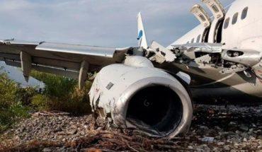 Un muerto y 18 heridos tras el despiste de un avión de pasajeros en Rusia