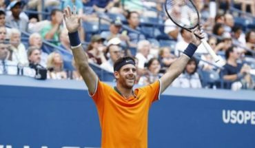 Va por todo: Del Potro le ganó a Isner y ya está en semifinales del US Open