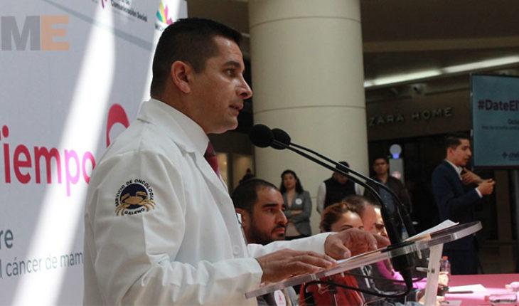 Van 243 casos de cáncer de mama registrados en Michoacán durante el 2018