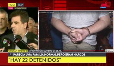 Cayó familia narco con cocinas de cocaína