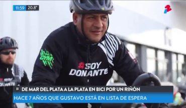 Con bienestar: De Mar del Plata hasta La Plata en bici por un riñón