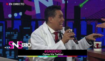 Eduardo Orozco asegura que es doctor | SNSerio