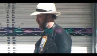 El Fisgón captó al actor Nicolas Cage