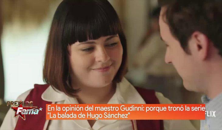 """El maestro Gudinni habla de """"La balada de Hugo Sánchez""""   Premios Fama"""