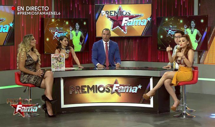 Gaby defiende a Acábatelo de Latin Lover | Premios Fama