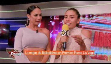 Lis Vega habla de las calificaciones de sus compañeros | Premios Fama
