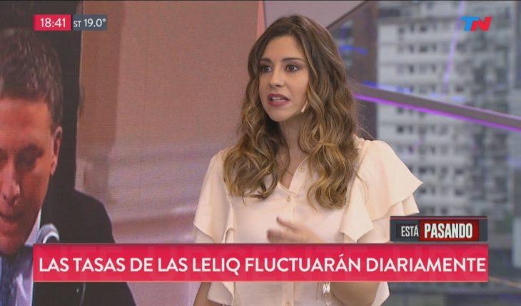 Marcela Pagano analizó la presentación de Sandleris