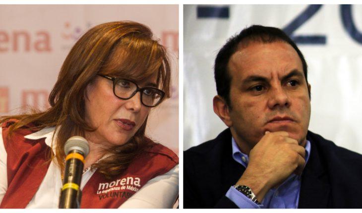 Yeidckol acusa a Cuauhtémoc de intentar comprar a militantes de Morena