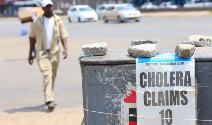 Zimbabue declara brote de cólera después de 20 muertes