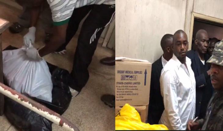 12 bebes muertos embolsados y en cajas fueron encontrados por un gobernador en Kenia