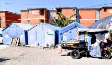 A un año del S19, aún hay campamentos de damnificados