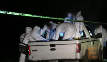 Abandonan en una camioneta el cuerpo de un hombre con impactos de bala en Morelia