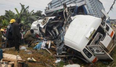 Accidente deja 7 muertos y 12 heridos de gravedad
