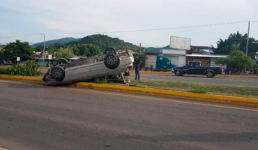 Accidents left injured and material damage in the Michoacán Tierra Caliente